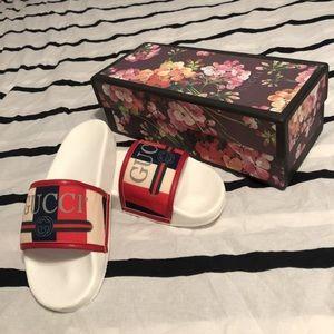 Gucci sylvie slides